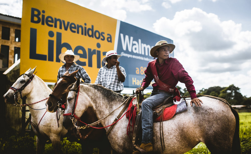 Modern Cowboys in Costa Rica.