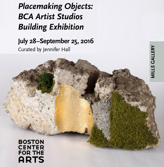 Placemaking Objects: Group Exhibition Summer 2016   Mills Gallery at Boston Center for the Arts  July 28–September 25, 2016 Curated by Jennifer Hall   More    here.