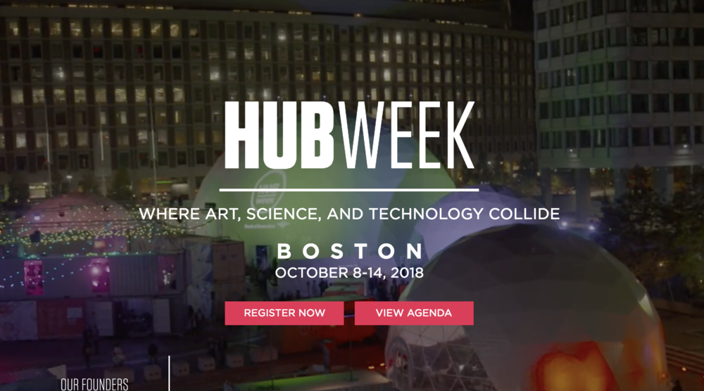 HUBweek Walls 2018 – I am one of the artists painting a shipping container for the event! Oct. 8-14. More info on link!