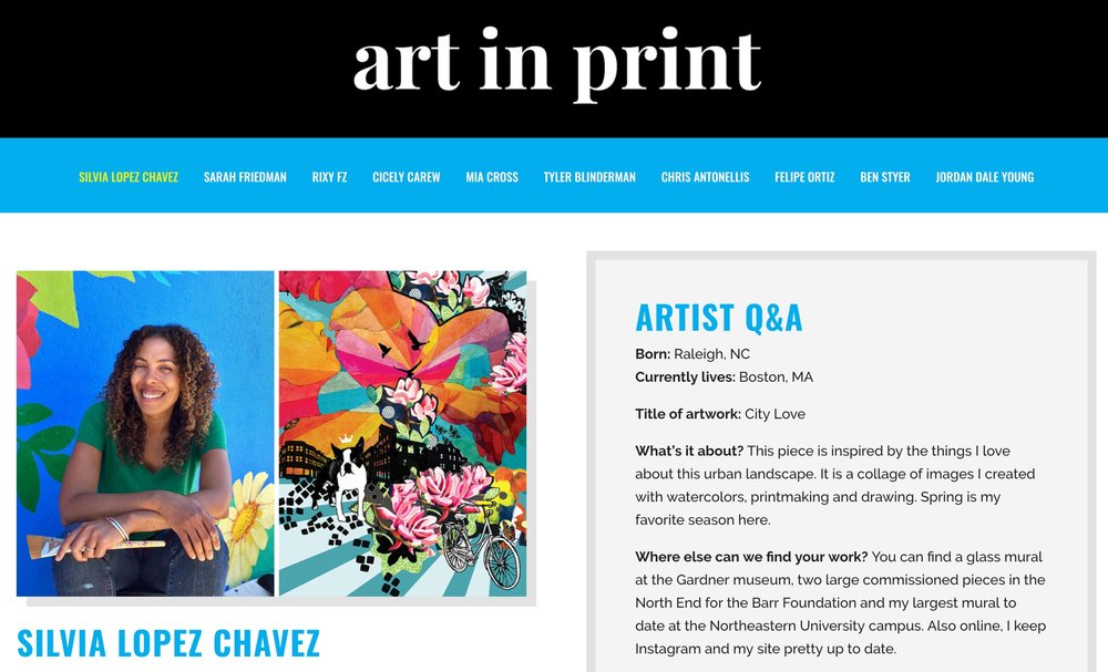 ART In PRINT: LIMITED EDITION POSTERS BY 10 LOCAL ARTISTS     A Harvard-sparked initiative part of the program of Zone 3 .