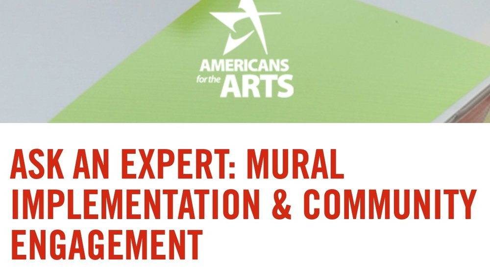Americans for the Arts // Live Event     May 28, 2019 at 3:00PM EDT