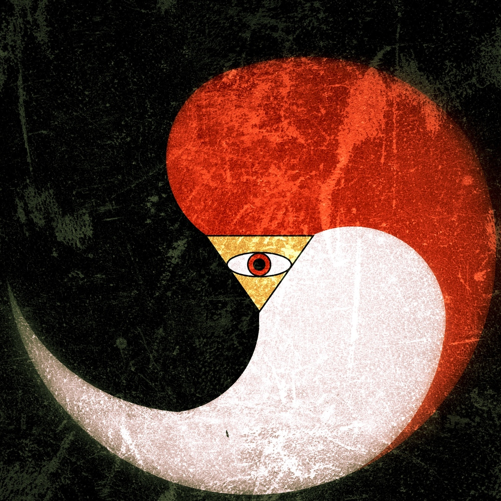 The Seal of the Kenja- the Three Powers of Asha governed by the All-seeing Eye