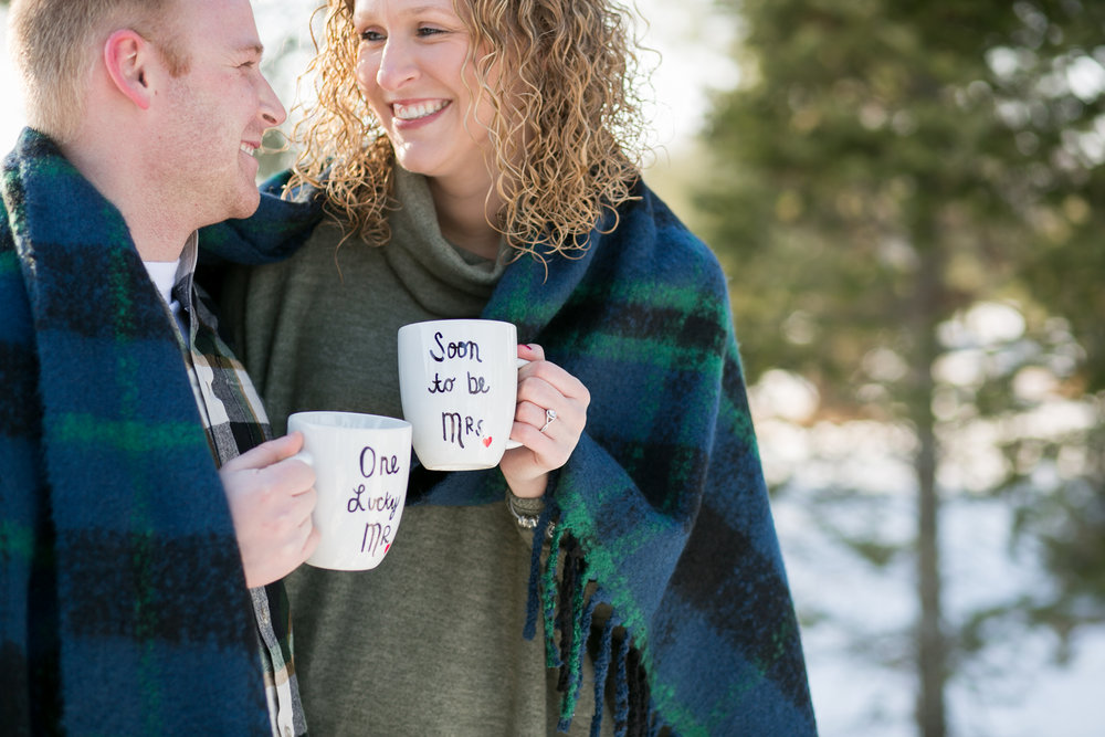 Winter Engagement Props Chelsea Bolling Photography