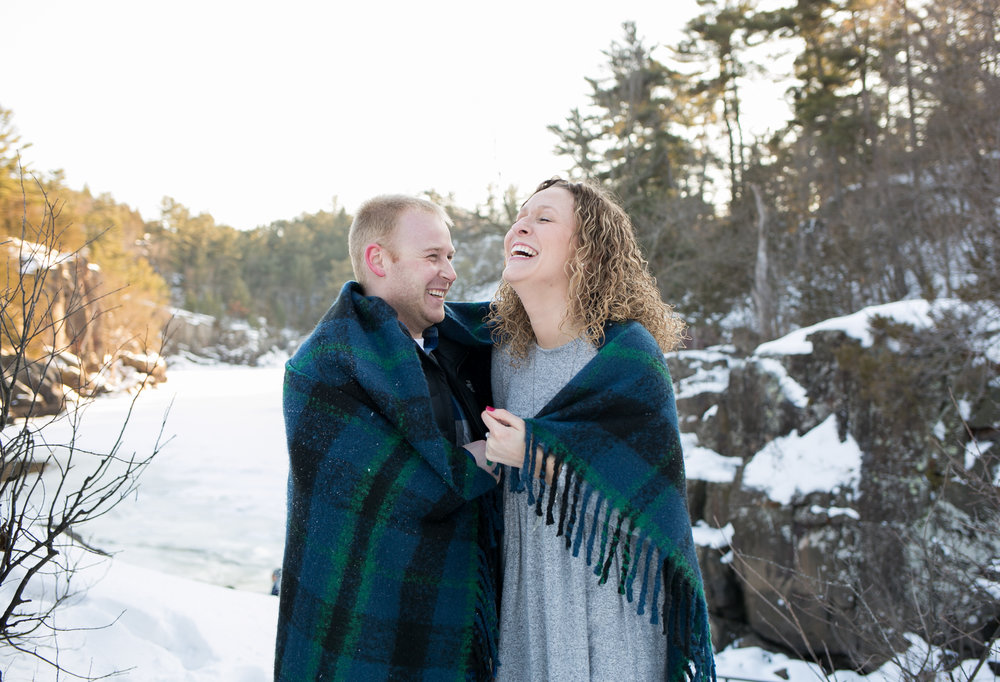 Winter Engagment Prop Ideas by Chelsea Bolling Photography