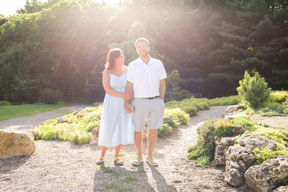 lyndale park rose garden engagement