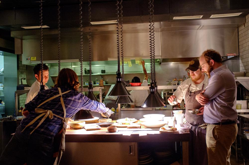 The kitchen at HuskNashville