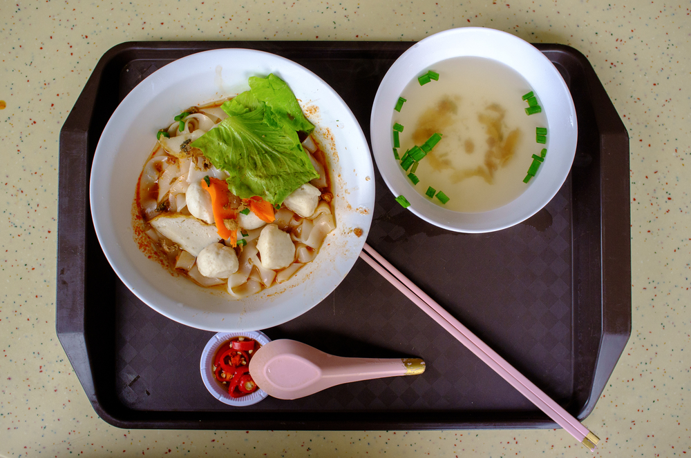Fish Ball Noodle Soup at Tiong Bahru Food Centre