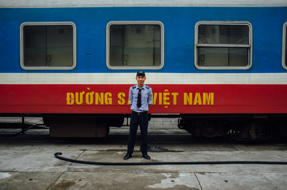 Traveling by Long Distance Train and Bus in Vietnam