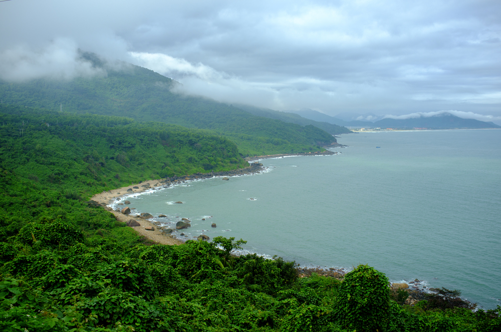 Beautiful views along the coast