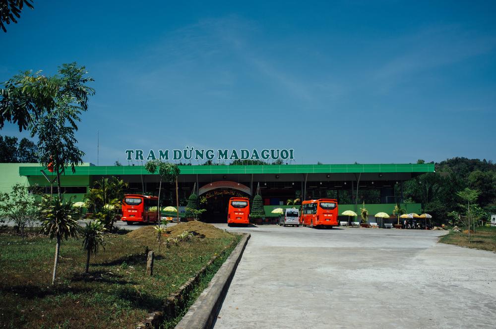 Rest stop between HCMC and Dalat