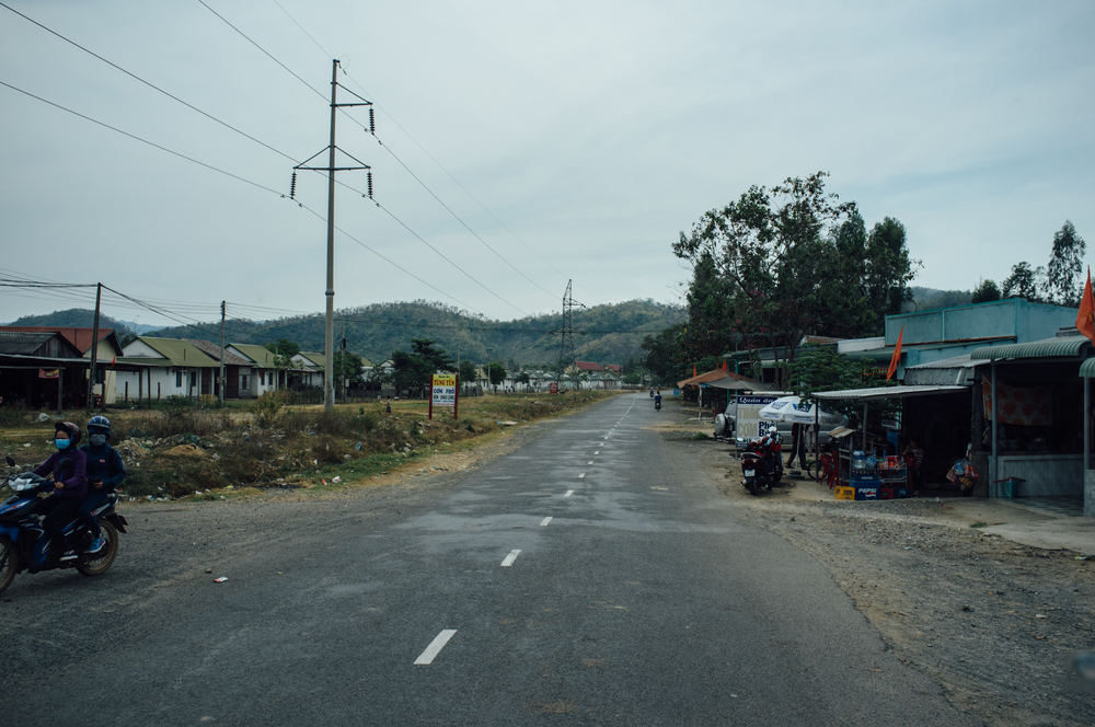 Approaching rural southern Vietnam