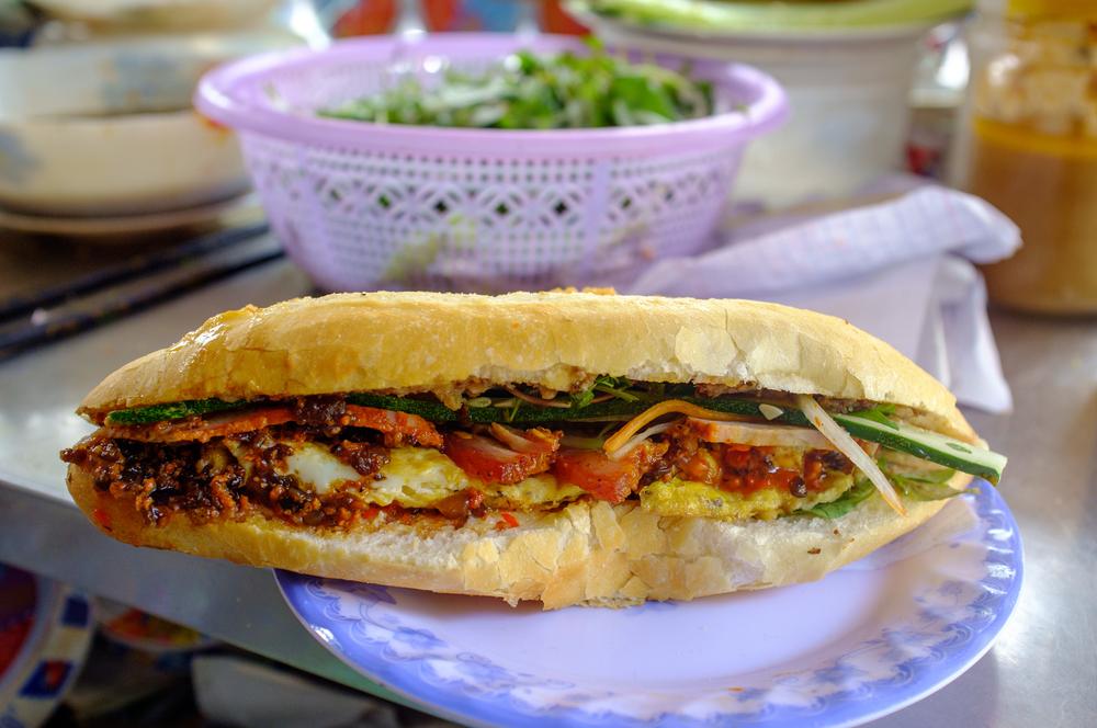 """Madam Khanh's """"everything""""  bánh mì"""