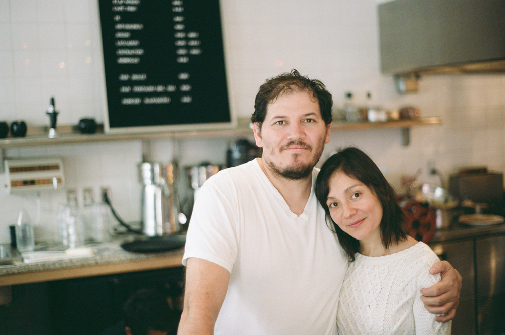 Eduardo and Gabriela at LALO!