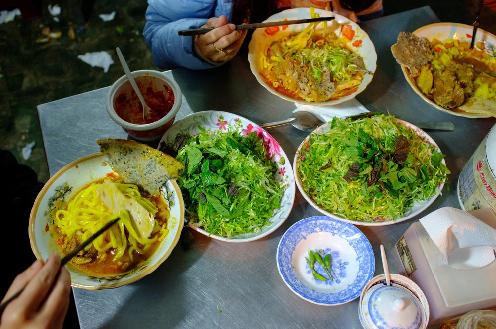 Mì Quảngfor dinner