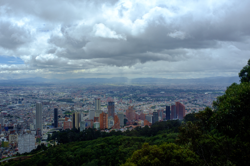 View from the Gondola ride up to Moserrate