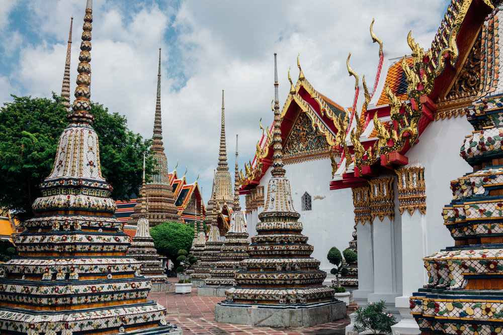 Wat Pho, a Buddhist temple complex in Bangkok