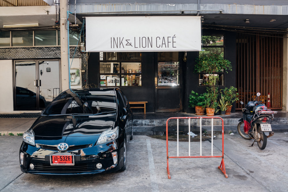 Ink & Lion exterior, in Bangkok