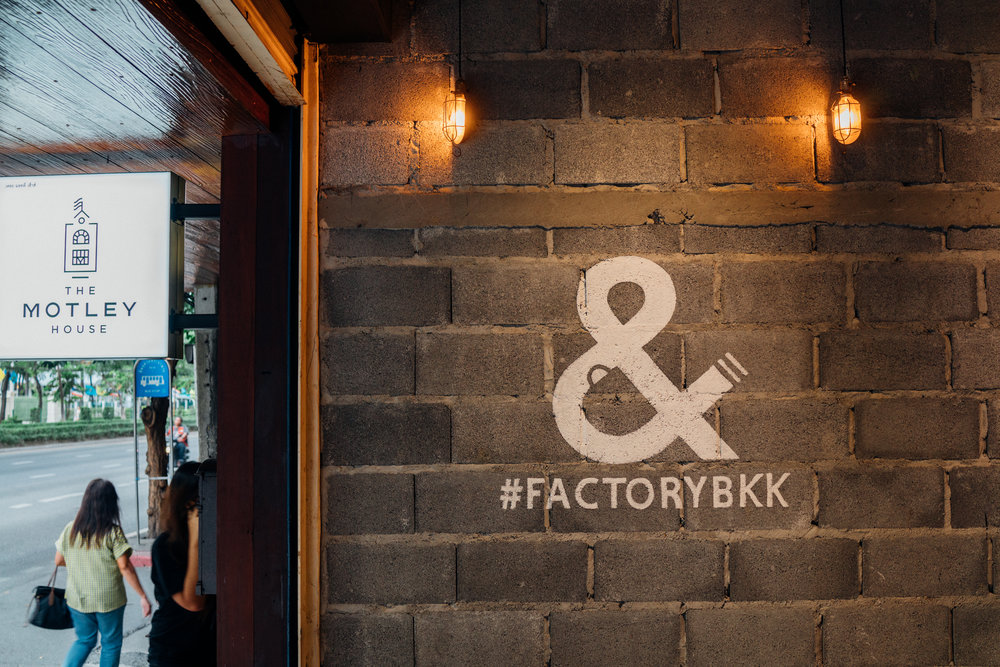 Factory Cafe in Bangkok