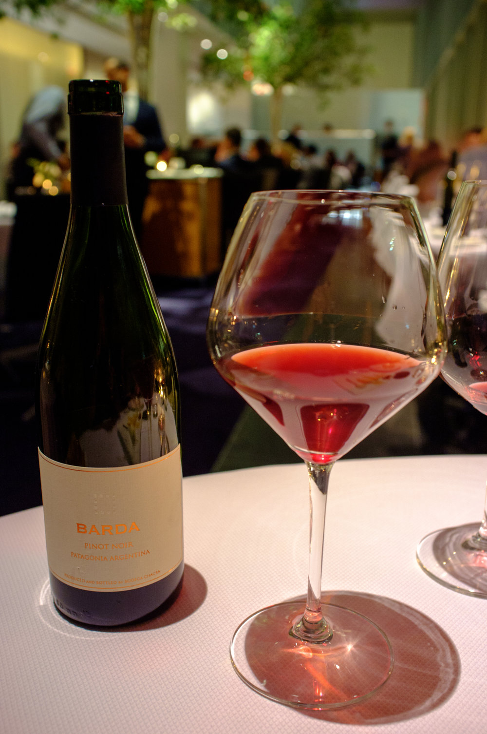 2013 Bodega Chacra Barda at The Modern, New York City