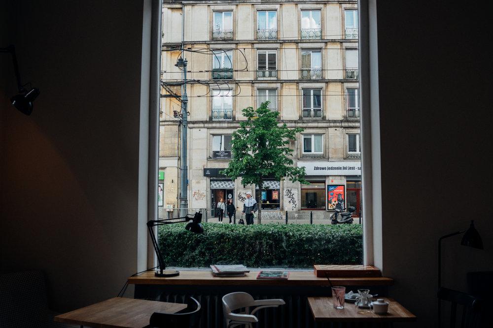 Ministerstwo Kawy, a café in Warsaw, Poland