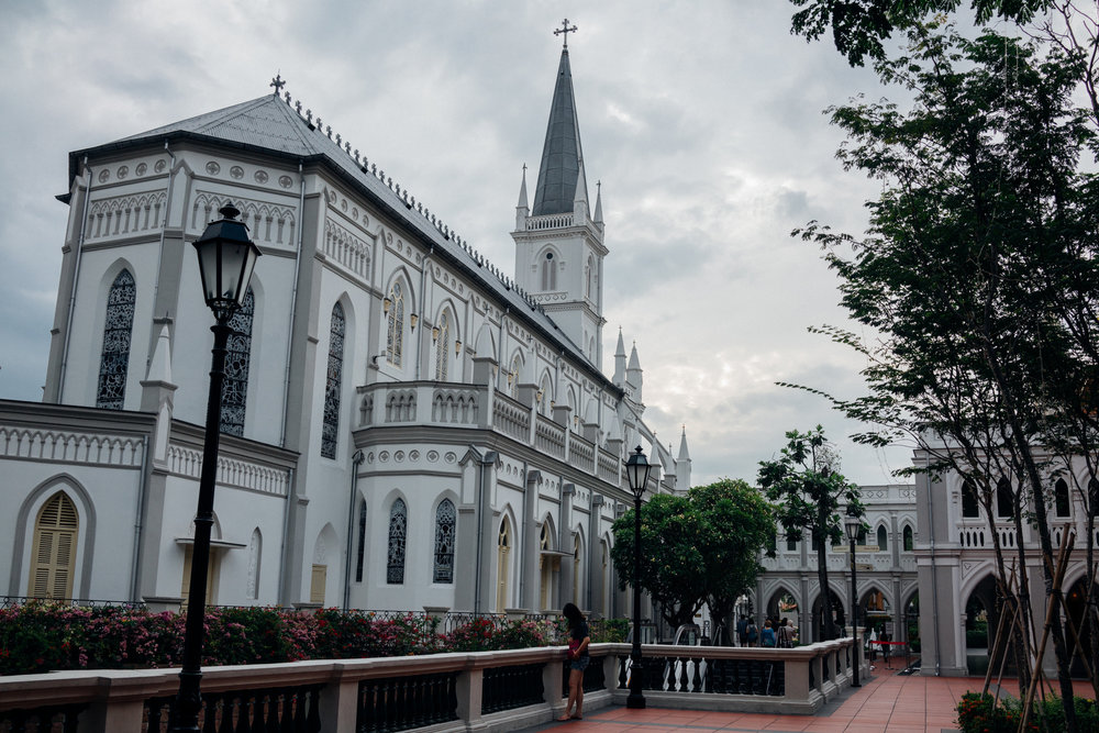 The Chijmes complex in Singapore