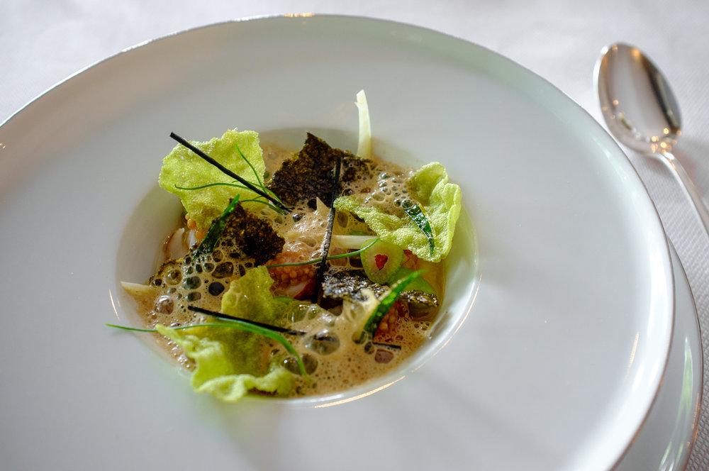 Lobster, Sea Urchin, Tarragon, Fennel