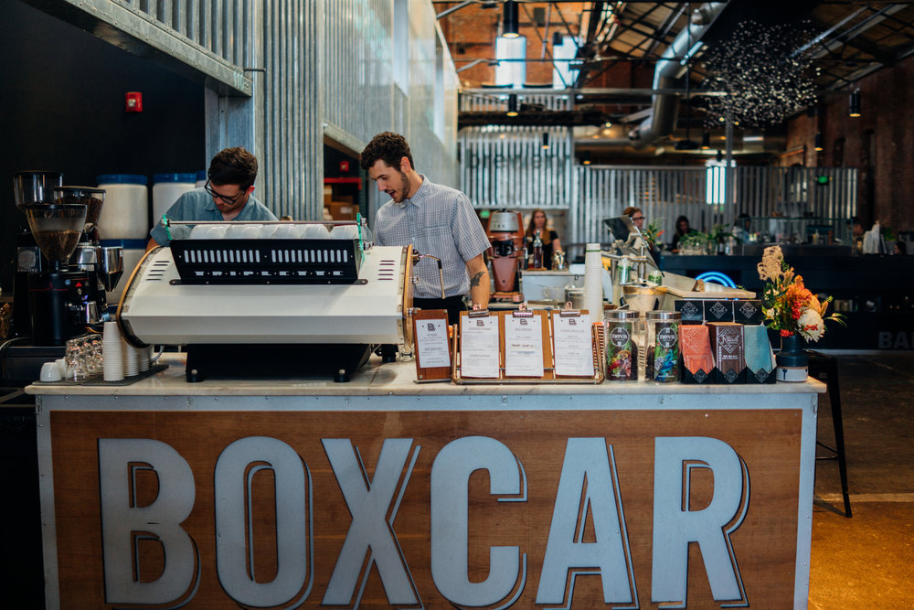 Boxcar's stall in The Source