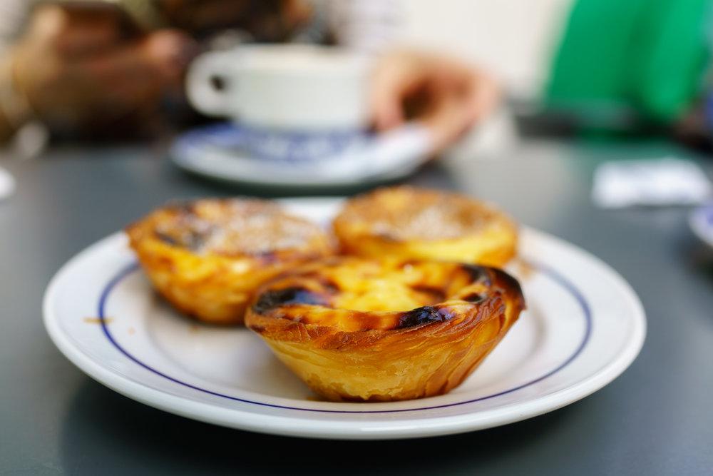 Glorious pastéis de Belém