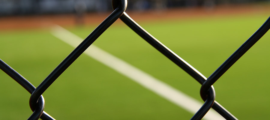 Ballpark fence
