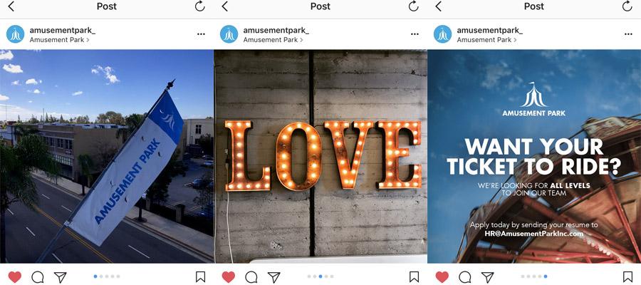 Instagram carousel tips