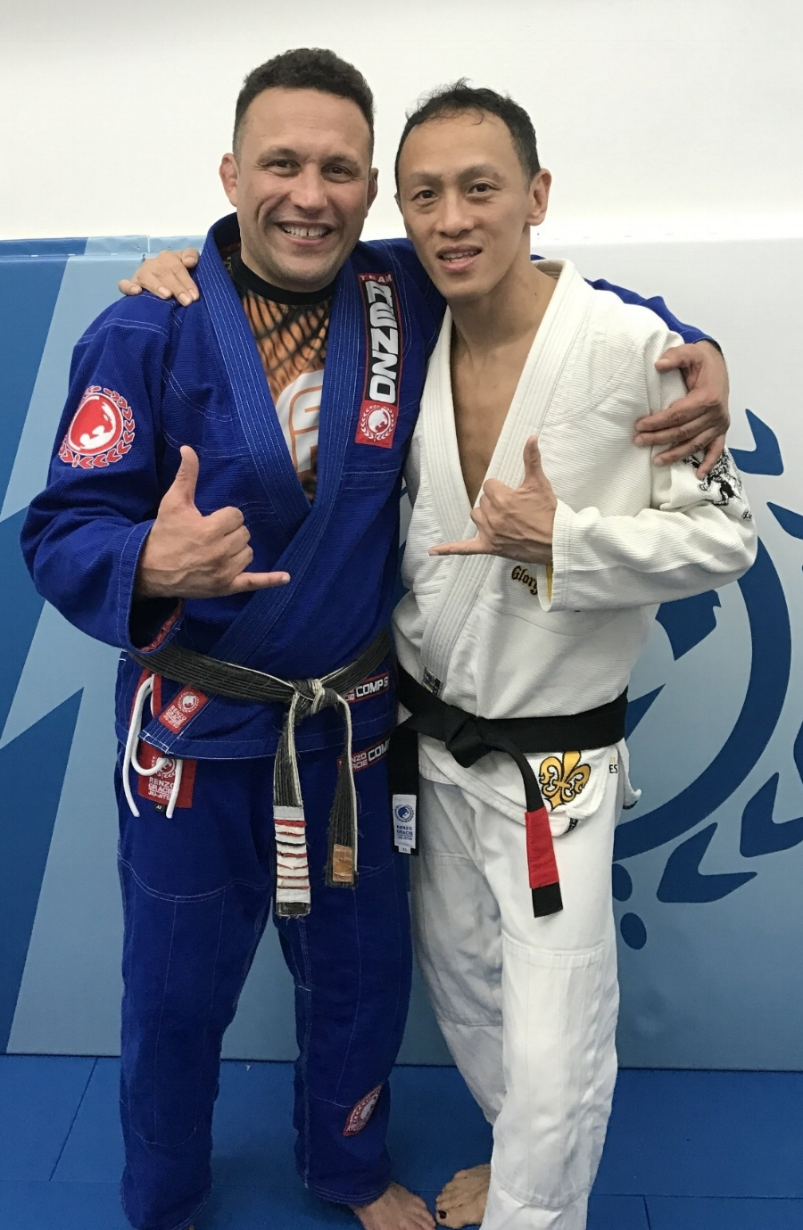 Renzo Gracie and Peter Tay - February 27, 2017