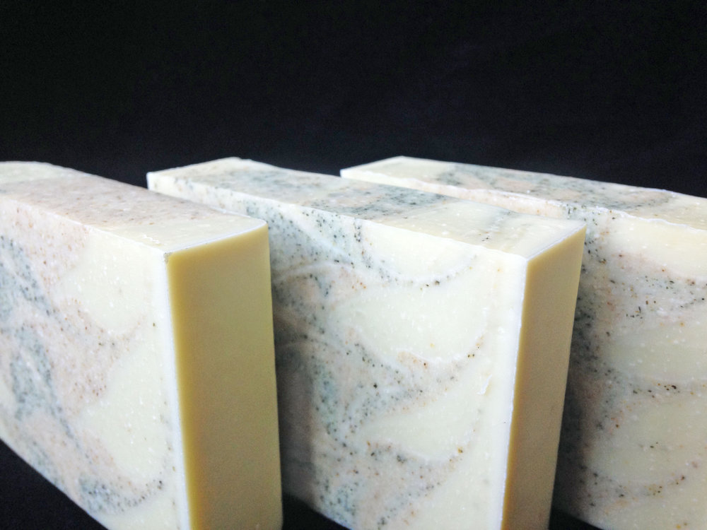 Organic Olive Oil Soaps - Naturally Colored