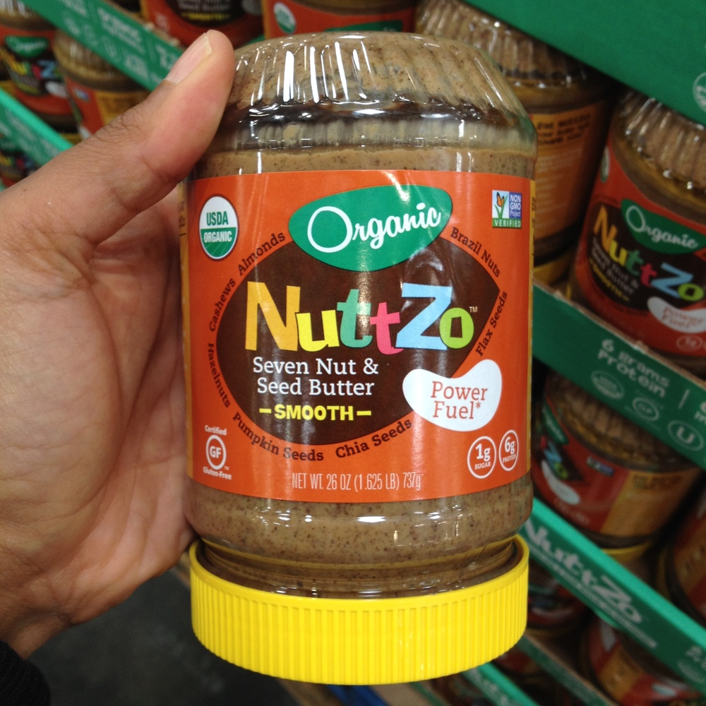 NuttZo  nut and seed butter. Availability and type will depend on the store. The Richmond Costco currently only has this flavor.