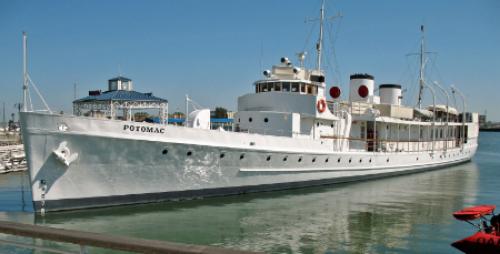 The USS Potomac