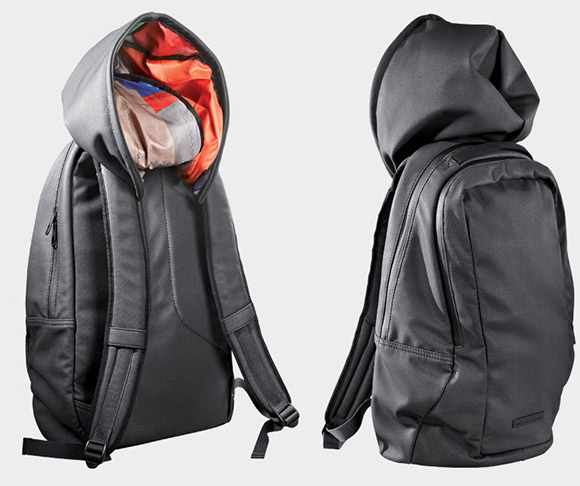 Puma hooded backpack
