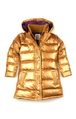 Appaman Long Down Coat (gold) — The E.Vil Mall