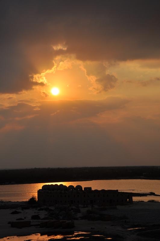 A Suez Canal View