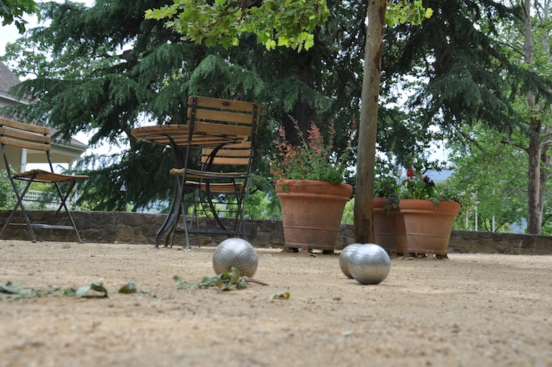 Boules at St. Supery