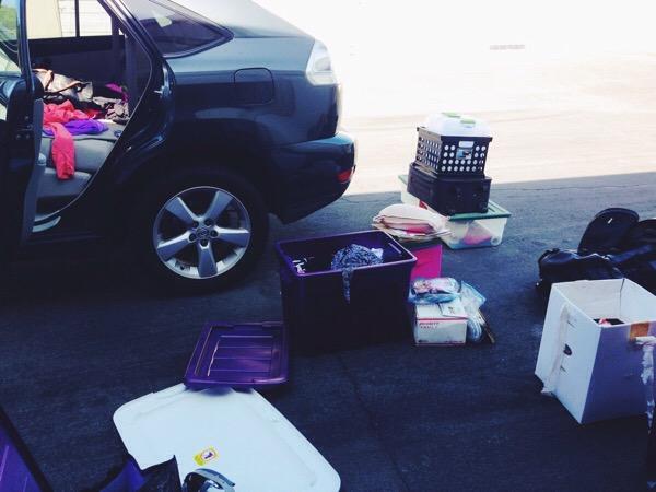 car + stuff