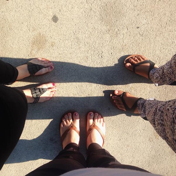 Friends Feet