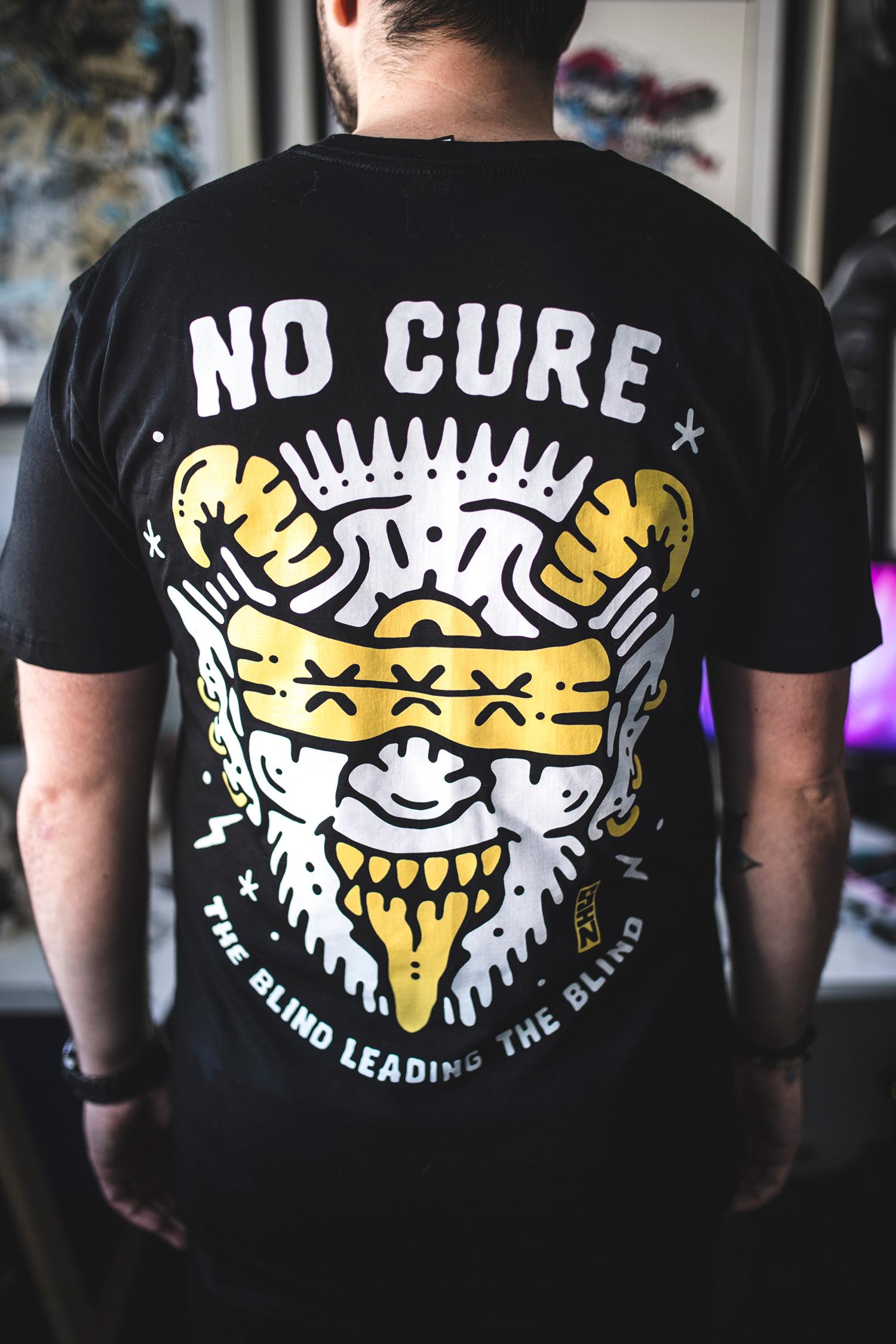 4324d78c No Cure x Sindy Sinn Tee — No Cure magazine