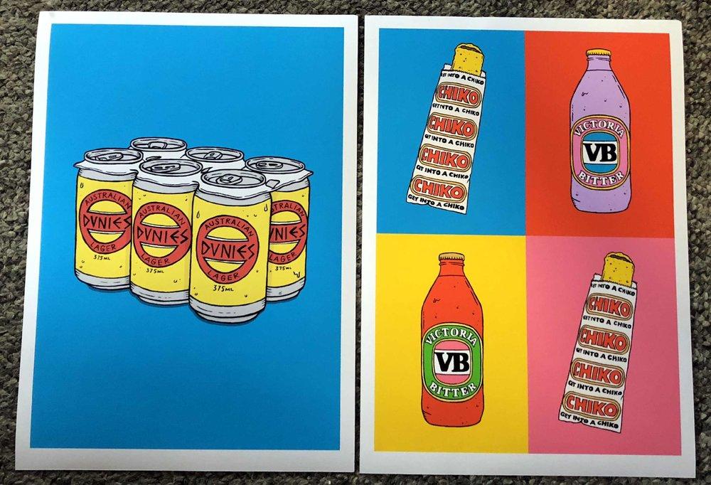 Artist: Lee McConnell -  'The Craft (and Art) of Beer'