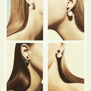 We're all ears today #instyle #earrings #studs #mm #pearl #friday #friyey #blonde #brunette #love #jewelry #accessories