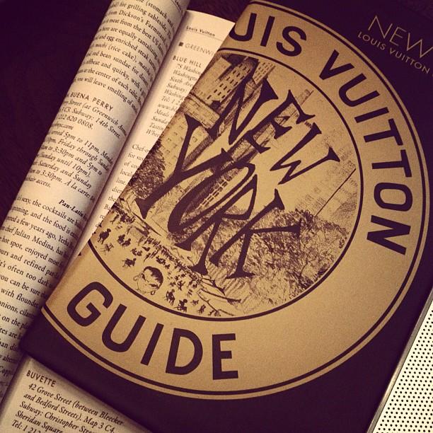 Louis Vuitton New York Guide 2012