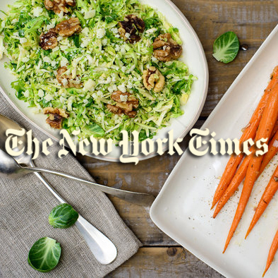 """Courtly Meals From Buvette's Queen"" New York Times, July 2014"