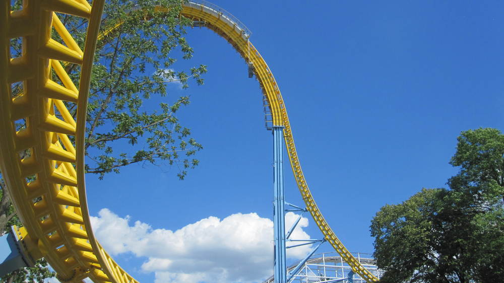 Skyrush By Bobbie Butterfield Ups Downs And Upside Down Roller