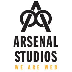 Arsenal Studios Web Design