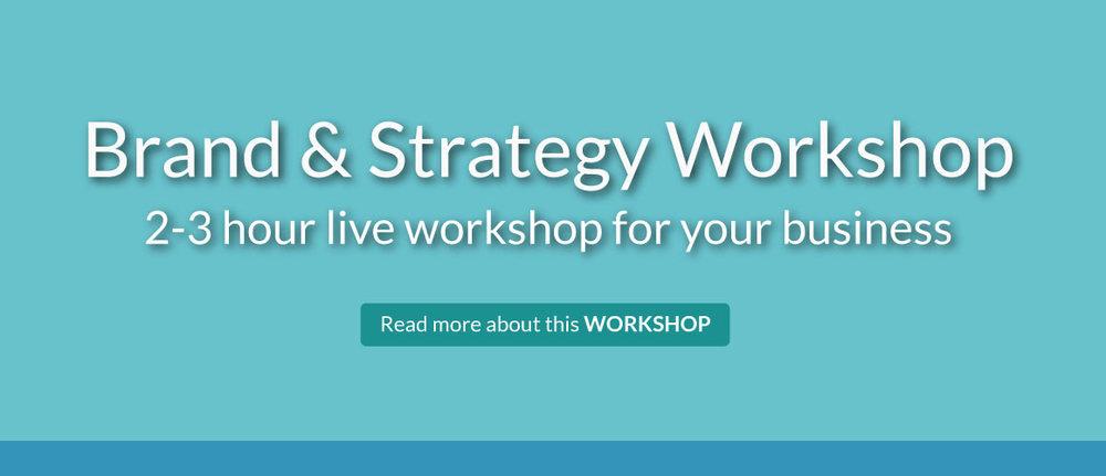 Brand & Strategy Workshop