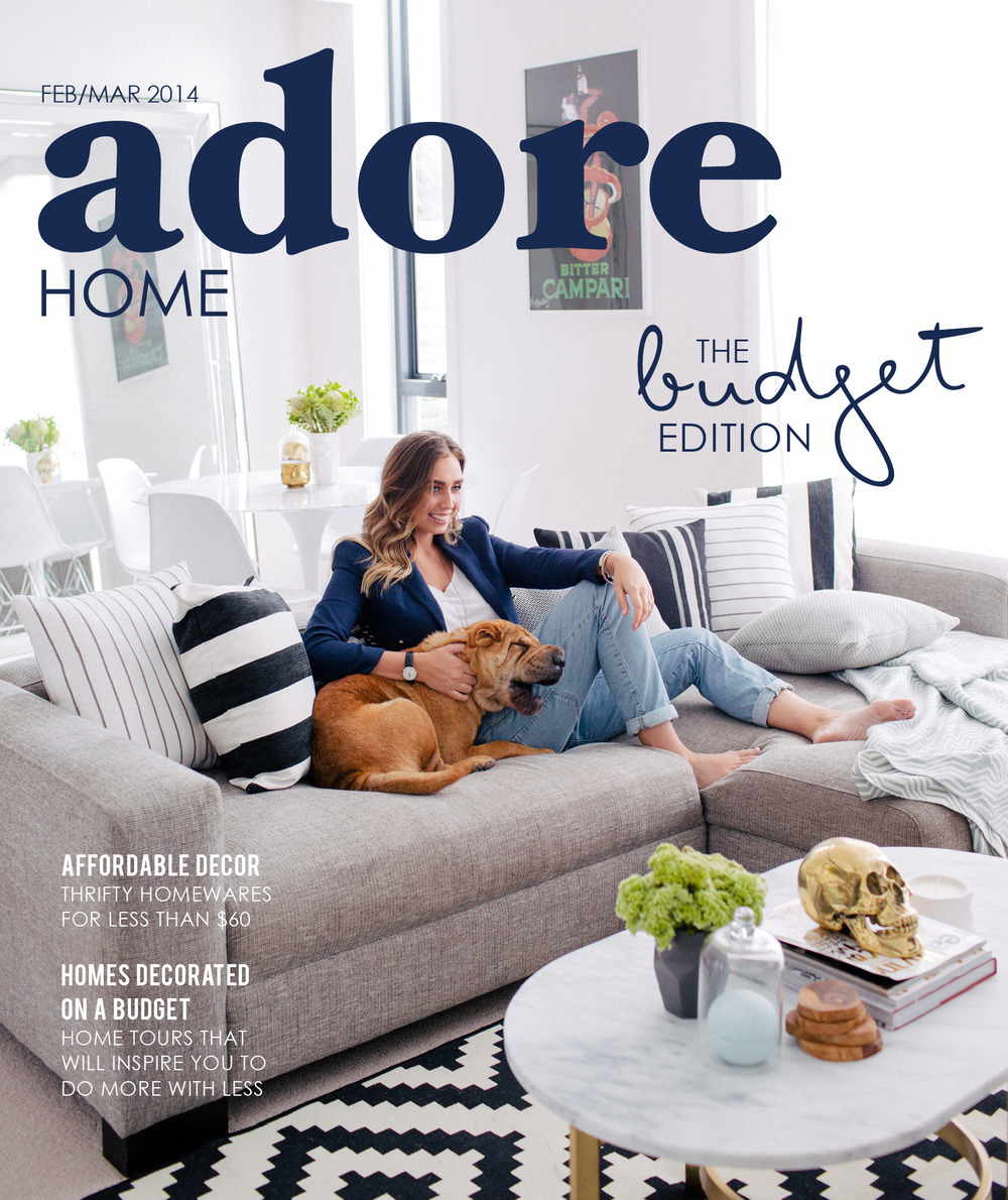Home Magazine: In The Press // Adore Home Magazine