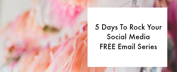 5 Days To Rock Your Social Media